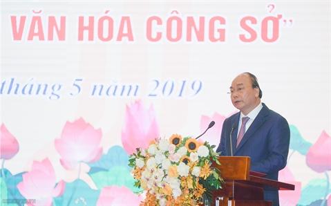 Thủ tướng nêu 3 trụ cột xây dựng văn hóa công sở